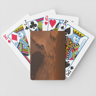 Martian Landscape Bicycle Playing Cards
