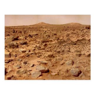 Martian Landscape Postcard