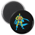 Martian Manhunter Poses Refrigerator Magnet