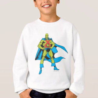 Martian Manhunter Poses Sweatshirt