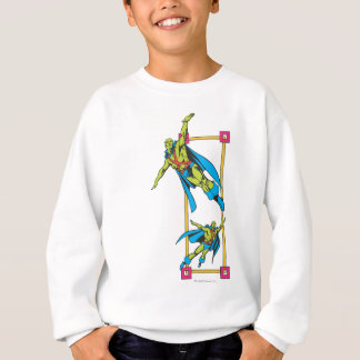 Martian Manhunter Soars Sweatshirt
