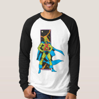 Martian Manhunter & Space Backdrop T-Shirt