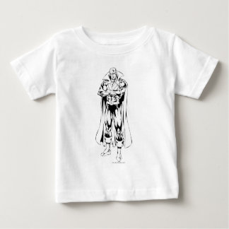 Martian Manhunter Standing Outline Baby T-Shirt