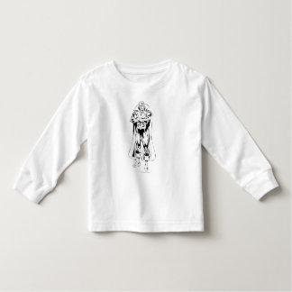 Martian Manhunter Standing Outline Toddler T-Shirt