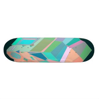 MARTIAN/MARS Cab Over Engine Space Trucker 2 Skate Deck