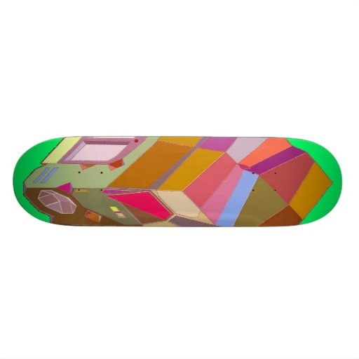 MARTIAN/MARS Cab Over Engine Space Trucker 3 Skateboard Deck