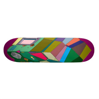 MARTIAN/MARS Cab Over Engine Space Trucker 6 Skate Board