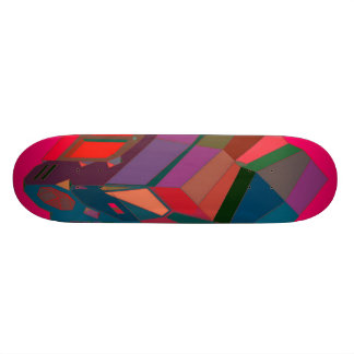 MARTIAN/MARS Cab Over Engine Space Trucker 7 Skateboard