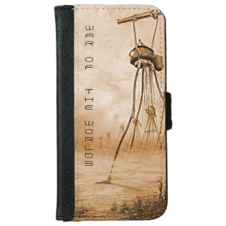 Martians With Gas Guns War Of The Worlds iPhone 6 Wallet Case