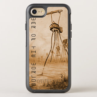 Martians With Gas Guns War Of The Worlds OtterBox Symmetry iPhone 7 Case