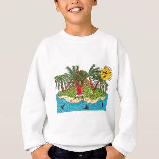 Martin and the desert island paradise sweatshirt
