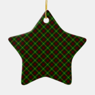 Martin Clan Tartan Scottish Design Christmas Ornament