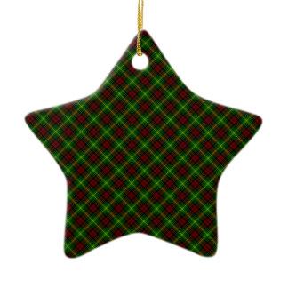 Martin Clan Tartan Scottish Design Christmas Ornament
