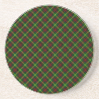 Martin Clan Tartan Scottish Design Coasters