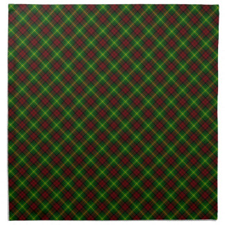Martin Clan Tartan Scottish Design Printed Napkins