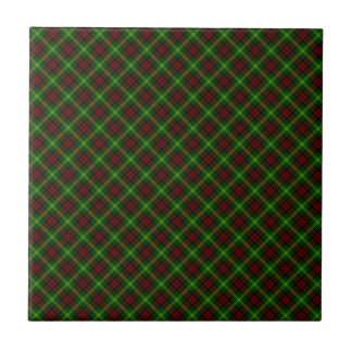 Martin Clan Tartan Scottish Design Small Square Tile
