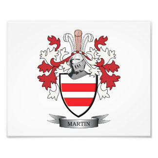 Martin Coat of Arms Photo Print