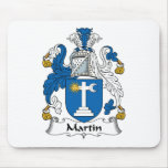 Martin Family Crest Mouse Mat