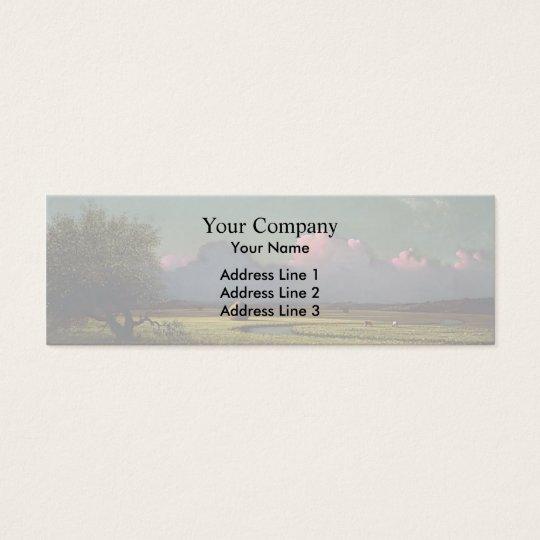 Martin Heade: Sunlight and Shadow Mini Business Card