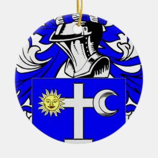 Martin (Irish) Coat of Arms Christmas Tree Ornaments