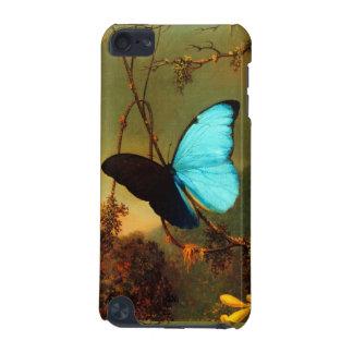 Martin Johnson Heade Blue Morpho Butterfly iPod Touch 5G Cases