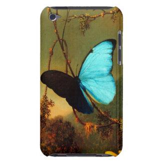 Martin Johnson Heade Blue Morpho Butterfly iPod Touch Cases