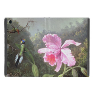 Martin Johnson Heade Orchid And Hummingbirds iPad Mini Cover