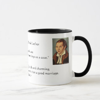 Martin Luther and Katie Luther Marraige Mug