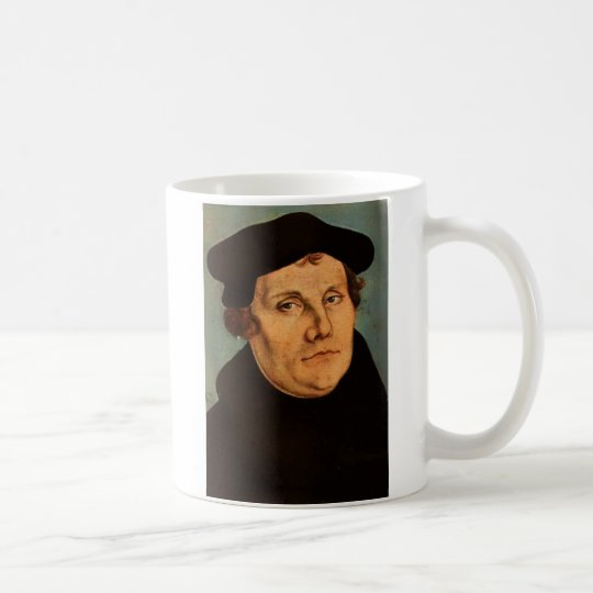 """Martin Luther Coffee Mug, """"Peace if possible, t"""