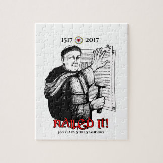 Martin Luther Nailed It! Jigsaw Puzzle