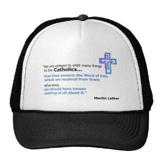 Martin Luther Quote Trucker Hats