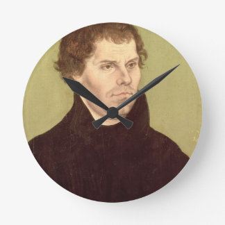 Martin Luther Round Clock
