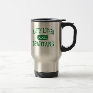 Martin Luther - Spartans - High - Greendale Mug