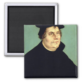 Martin Luther Square Magnet