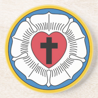 Martin Luther's Seal Beverage Coaster