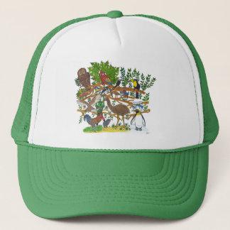 Martin meets the birds trucker hat