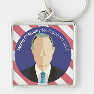 Martin O'Malley 2016 for president custom keychain