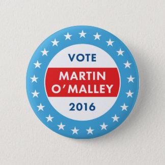 Martin O'Malley 2016 6 Cm Round Badge