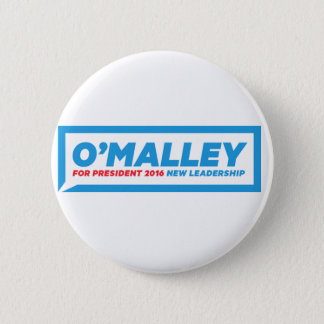 "Martin O'Malley 2016 Campaign Button - 2.25"" Round"
