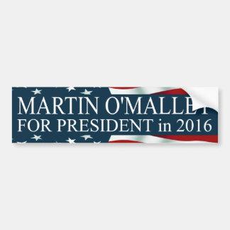 Martin O'Malley for President 2016 Bumper Sticker