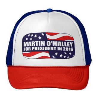 Martin O'Malley President 2016 Cap