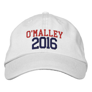 Martin O'Malley President 2016 Embroidered Cap