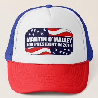 Martin O'Malley President 2016 Trucker Hat