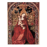 Martin Schongauer- Madonna of the Rose Bush Post Card