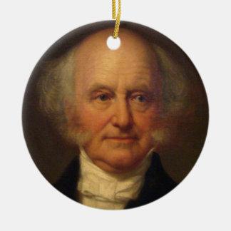 Martin Van Buren 8th President Christmas Ornament