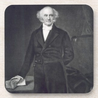 Martin Van Buren, 8th President of the United Stat Beverage Coaster