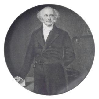 Martin Van Buren, 8th President of the United Stat Plate