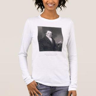Martin Van Buren, engraved by E. Wellmore (engravi Long Sleeve T-Shirt