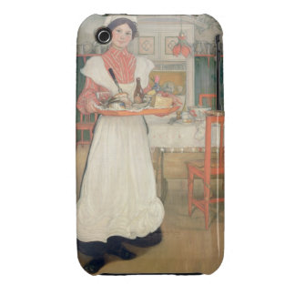 Martina Carrying Breakfast on a Tray, 1904 iPhone 3 Case