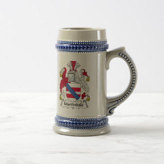 Martindale Family Crest Beer Steins